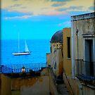 Ventotene sunrise by andreaminerdo