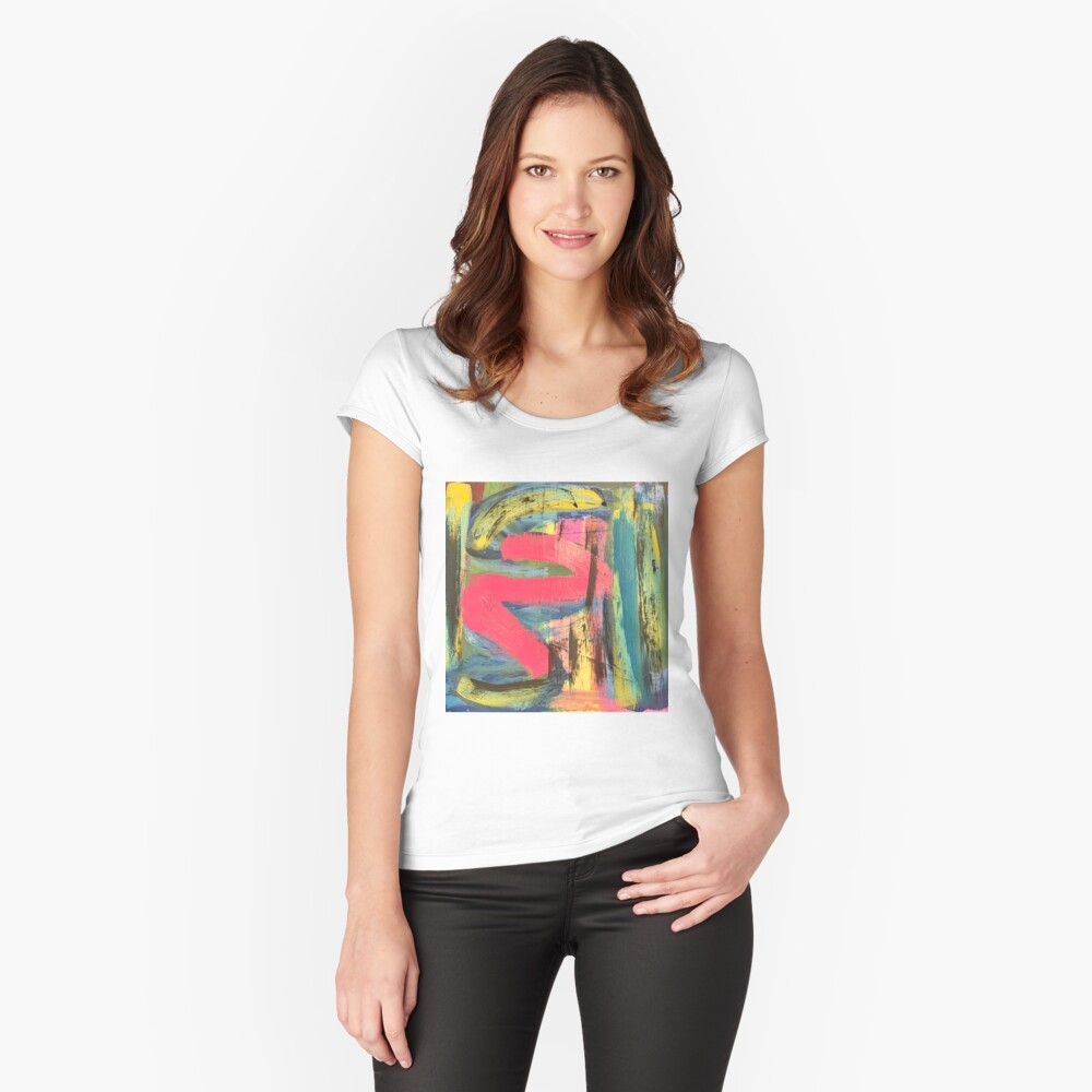 The Shimmering of Hope Fitted Scoop T-Shirt