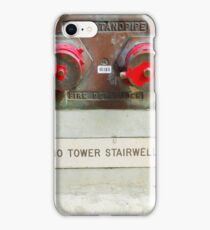 Dry standpipe iPhone Case/Skin