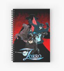 My Zorro fan art. Spiral Notebook