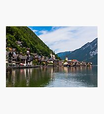 Hallstatt in Austria-011 Photographic Print