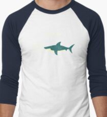 Sharkasm Men's Baseball ¾ T-Shirt