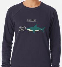 Sharkasmus Leichter Pullover