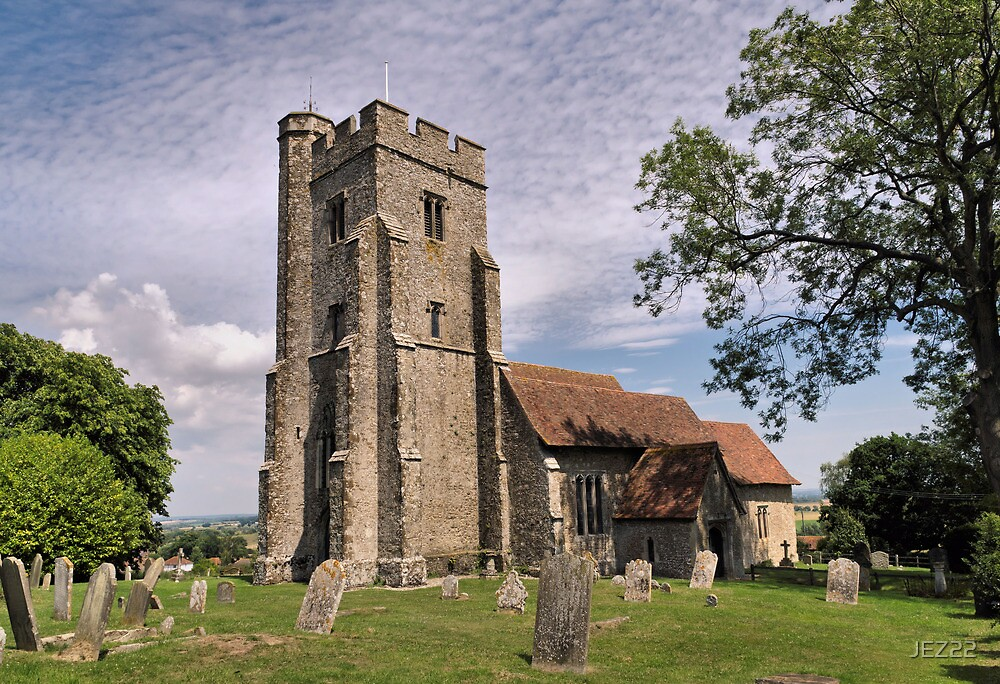 St.Mary the Virgin, Stone in Oxney by JEZ22