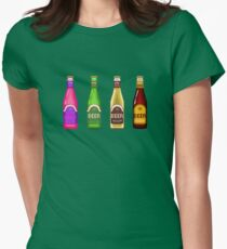 Beer Beer Beer Womens Fitted T-Shirt