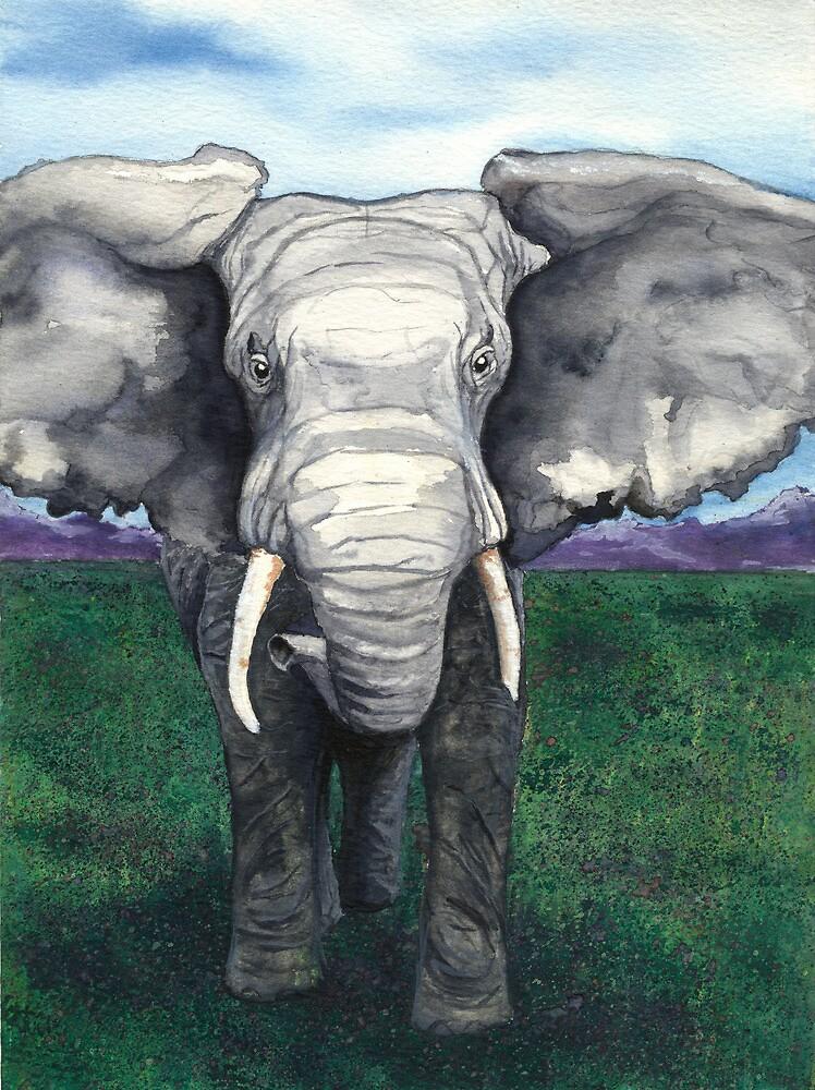 Defiant - Wildlife Watercolour by Brazen Design Studio