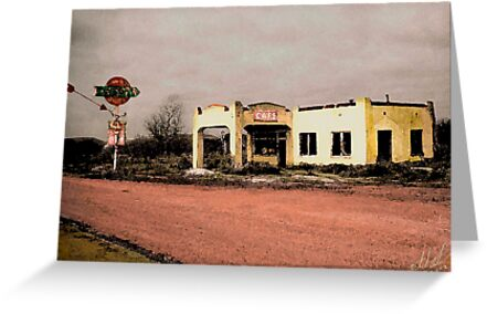 West Texas Diner by Larry Oates