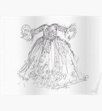 Cinderella's Gown Poster