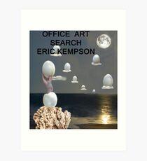 Office art Art Print