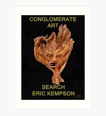 conglomerate art  Art Print