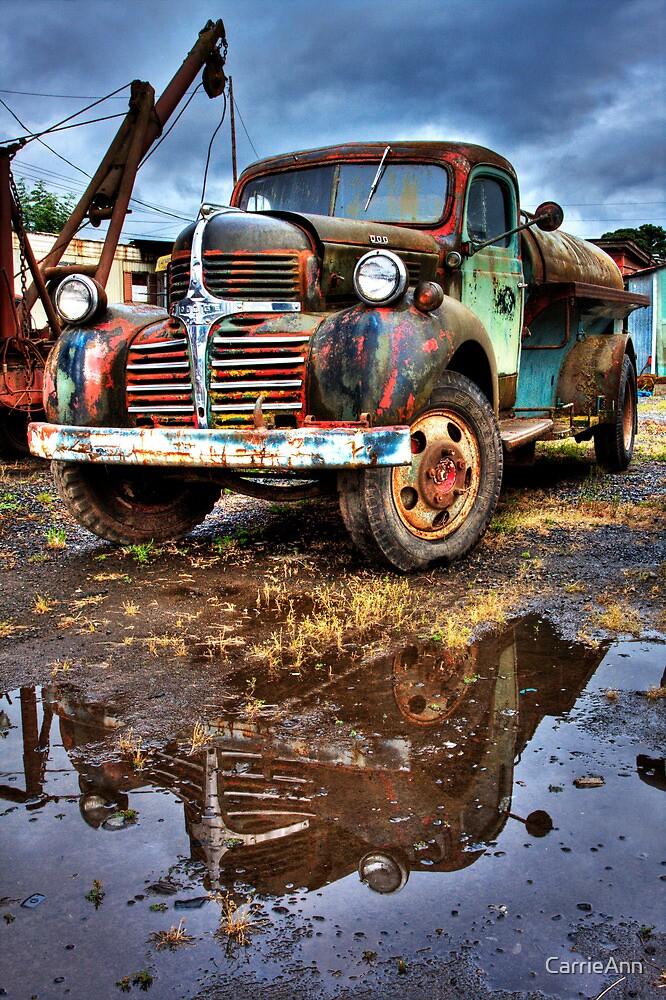 Vintage Dodge Tanker Truck  by CarrieAnn