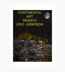 continental art Art Print