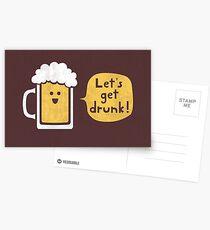 Drinking Buddy Postcards