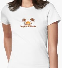 Naples - Florida. Women's Fitted T-Shirt