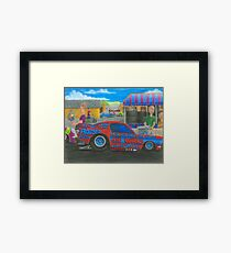 Rocco's Pro Mod-Kids watch Ford Mustang Framed Print