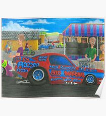 Rocco's Pro Mod-Kids watch Ford Mustang Poster