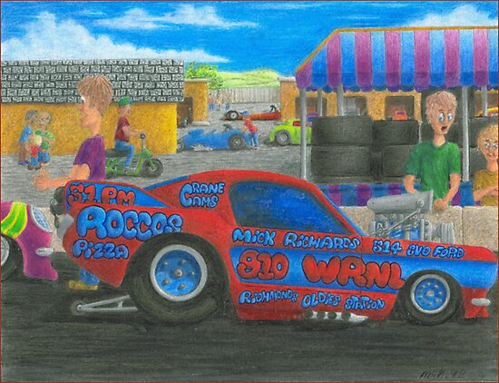 Rocco's Pro Mod-Kids watch Ford Mustang by Michael McKellip