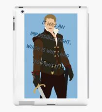 Once Upon A Time Prince Charming iPad Case/Skin
