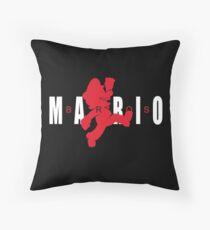 AIR MARIO Throw Pillow