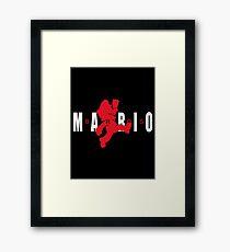AIR MARIO Framed Print