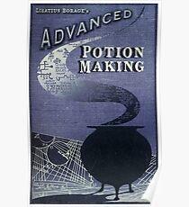 Libatius Borage's Advanced Potion Making  Poster