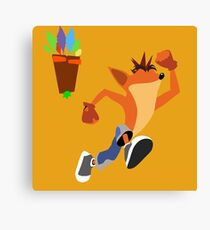 Crash Bandicoot Canvas Print