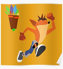 Crash Bandicoot Poster