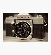 praktica SLR with Russian Industar 50mm lens Photographic Print