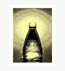 Agua Embotellada Art Print