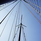 Schooner Mast by Laurie Perry