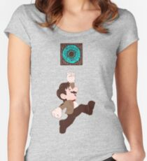 Mario Who? Women's Fitted Scoop T-Shirt