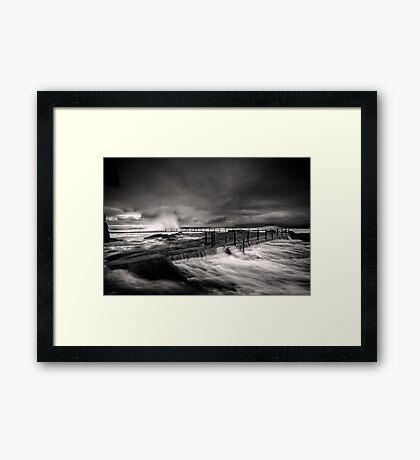 Flowing Mood Framed Print