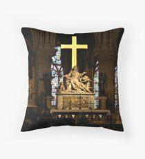 The High Altar - Notre Dame de Paris Throw Pillow