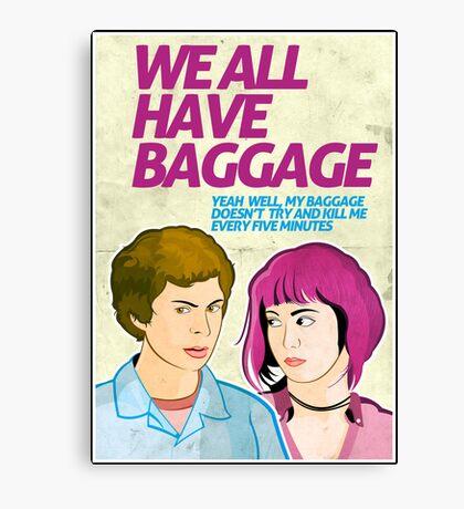 Baggage | Scott Pilgrim Canvas Print