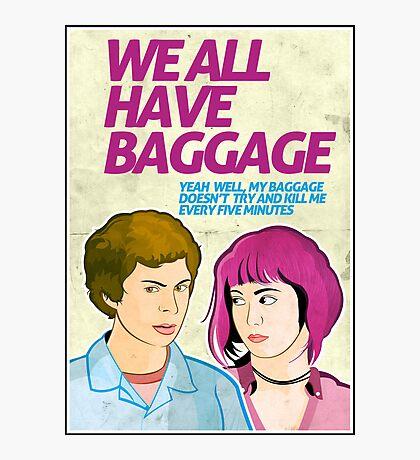 Baggage   Scott Pilgrim Photographic Print