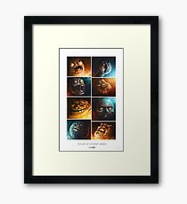 The Art of Internet Memes - by Sam Spratt Framed Print