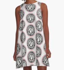 Pandora's Finest | Borderlands Fashion Logo A-Line Dress
