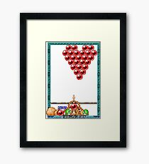 Puzzle Bobble Framed Print