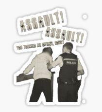 Assault! Sticker