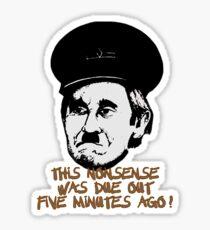 Blakey Nonsense Sticker