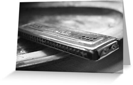 Old harmonica by Veikko
