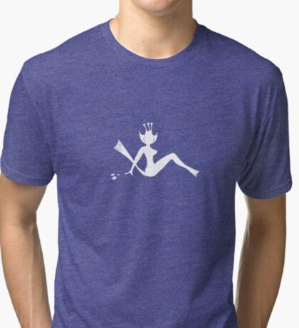 Seamonkey Mudflap (White) Tri-blend T-Shirt