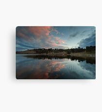 Googong sunset Canvas Print