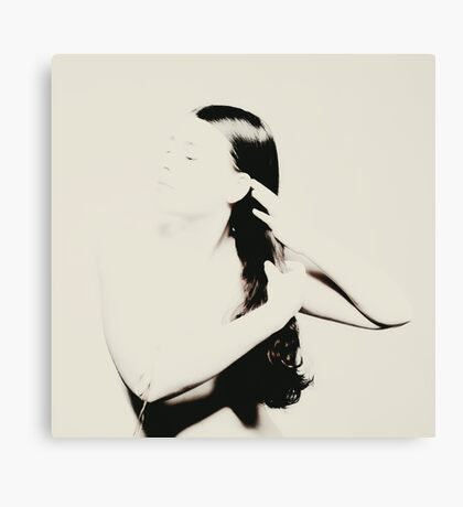 ponytail Canvas Print