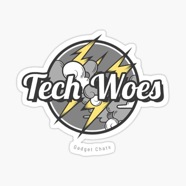 Tech Woes - Gray Sticker