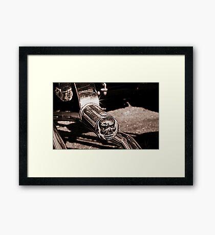 Skull Duggery Framed Print