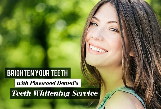 Brighten your Teeth with Pinewood Dental's Teeth Whitening Service by Lemont Dentists