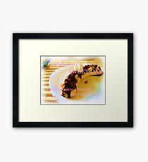 Dessert. Framed Print