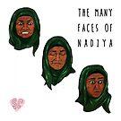 The Many Faces of Nadiya, GBBO by sarcochrane