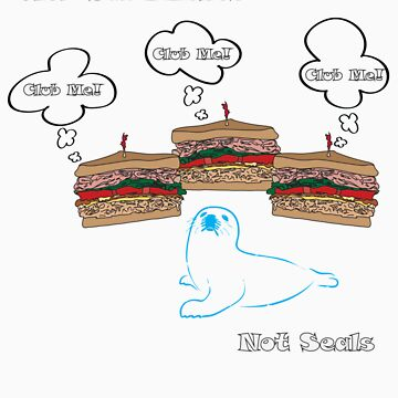 Club Sandwiches, Not Seals by pam0407